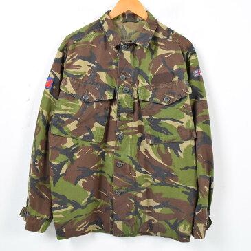 イギリス軍実品 DPM迷彩 ユーロミリタリーシャツ メンズM /wah5073 【中古】 【170922】