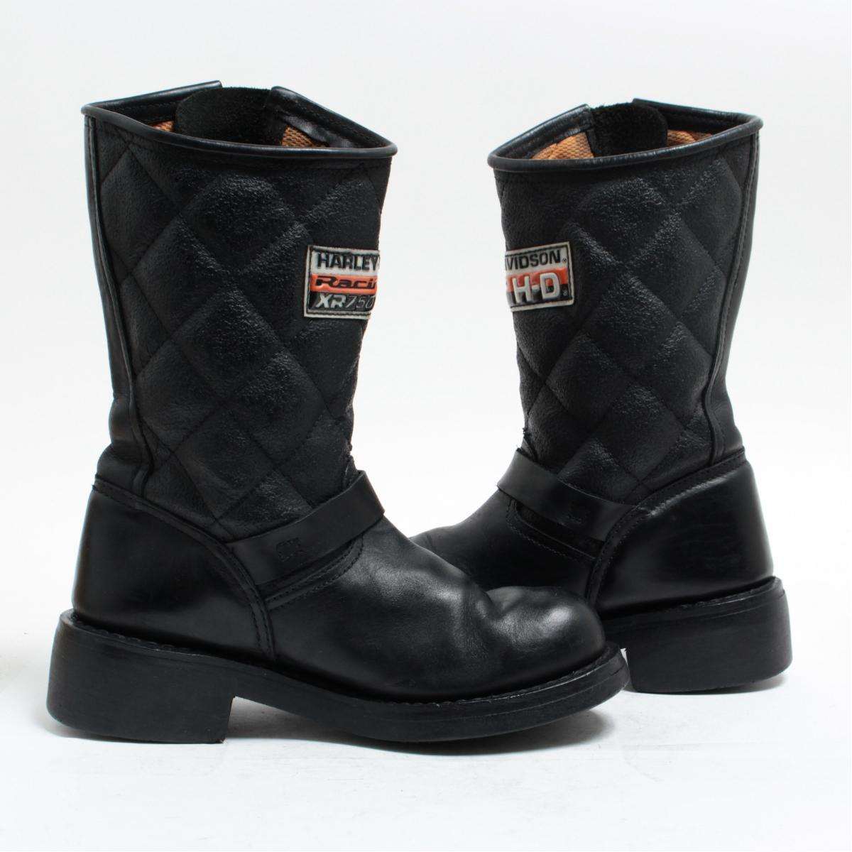 2c79e7afd0d Harley-Davidson Harley-Davidson engineer boots motorcycle boots US4 Lady's  22.0cm /bom0947