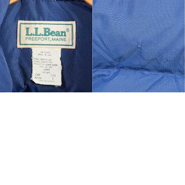 70〜80年代 エルエルビーン L.L.Bean ダウンベスト USA製 レディースS ヴィンテージ /wam2719 【中古】 【171207】