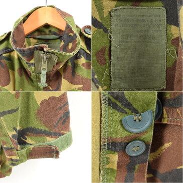 イギリス軍実品 DPMカモ 迷彩 ミリタリー コンバットジャケット メンズL /wal5880 【中古】【古着屋JAM】【古着屋JAM】 【180209】【SS1811】