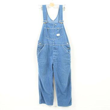 70年代 シアーズ Sears Tradewear オーバーオール メンズw37 ヴィンテージ /wak7913 【中古】【古着屋JAM】【古着屋JAM】 【180212】【SS1812】