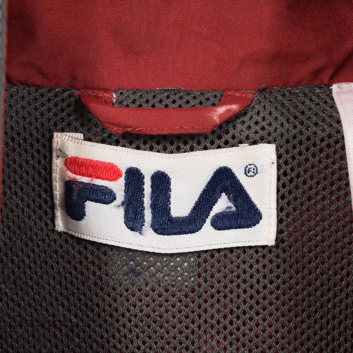 90s Fila FILA windbreaker men XL wal4635