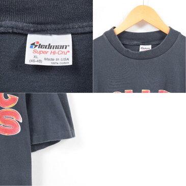 80年代 ステッドマン STEDMAN ROLLING STONES ローリングストーンズ STEEL WHEELS TOUR 1989 両面プリント バンドTシャツ USA製 メンズL ヴィンテージ /wap1795 【中古】【n1803】 【180317】