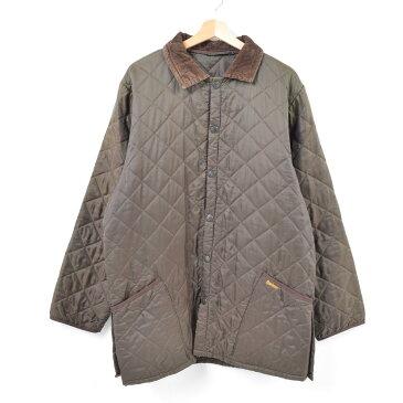 バブアー Barbour キルティングジャケット 英国製 メンズXL /war7342 【中古】 【180401】