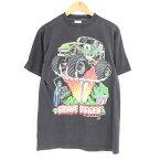 90年代 GRAVE DIGGER グレイヴディガー バンドTシャツ メンズM ヴィンテージ /war1310 【中古】 【180501】【TS2001】【VTG】