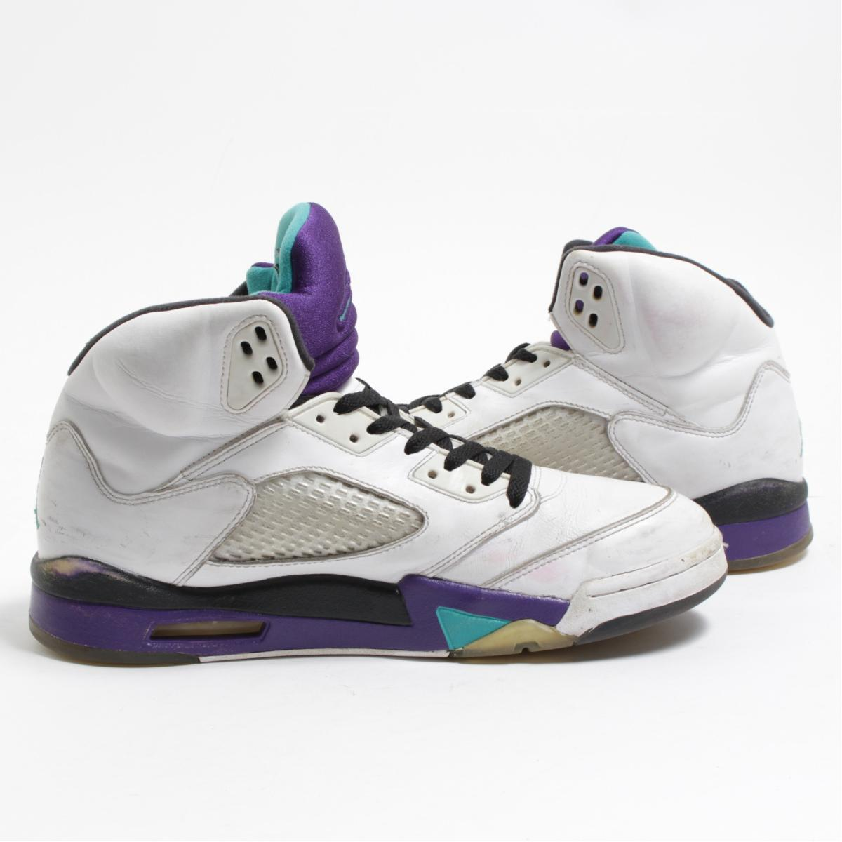 a9243d08c4cd VINTAGE CLOTHING JAM  Nike NIKE AIR JORDAN 5 RETRO GRAPE sneakers ...