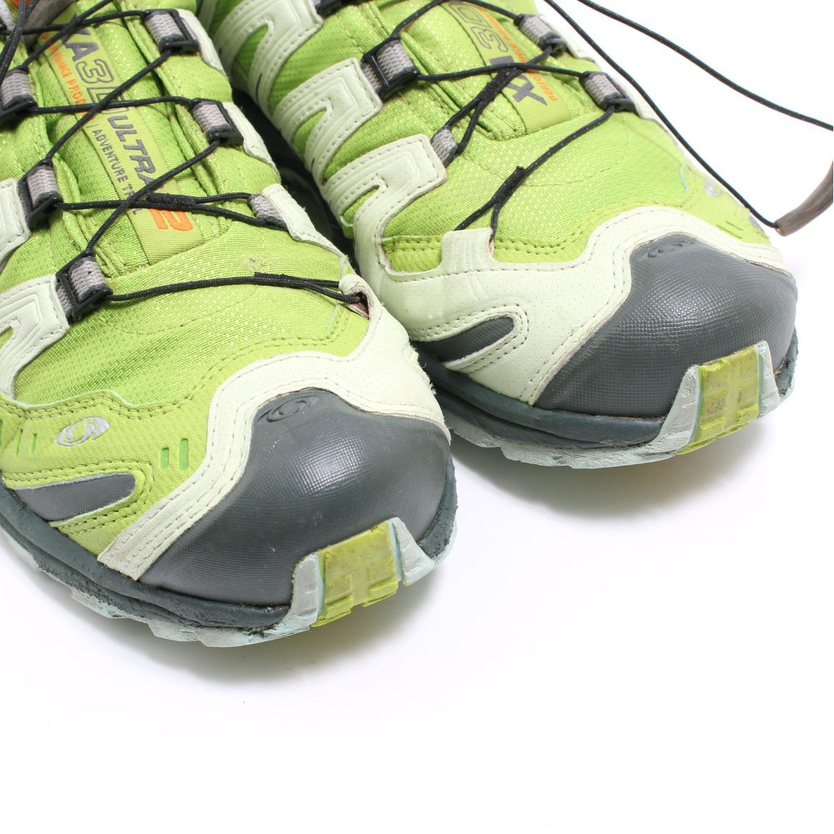 Salomon SALOMON XA PRO 3D ULTRA 2 GTX outdoor sneakers US8 Lady's 25.0cm bop8307