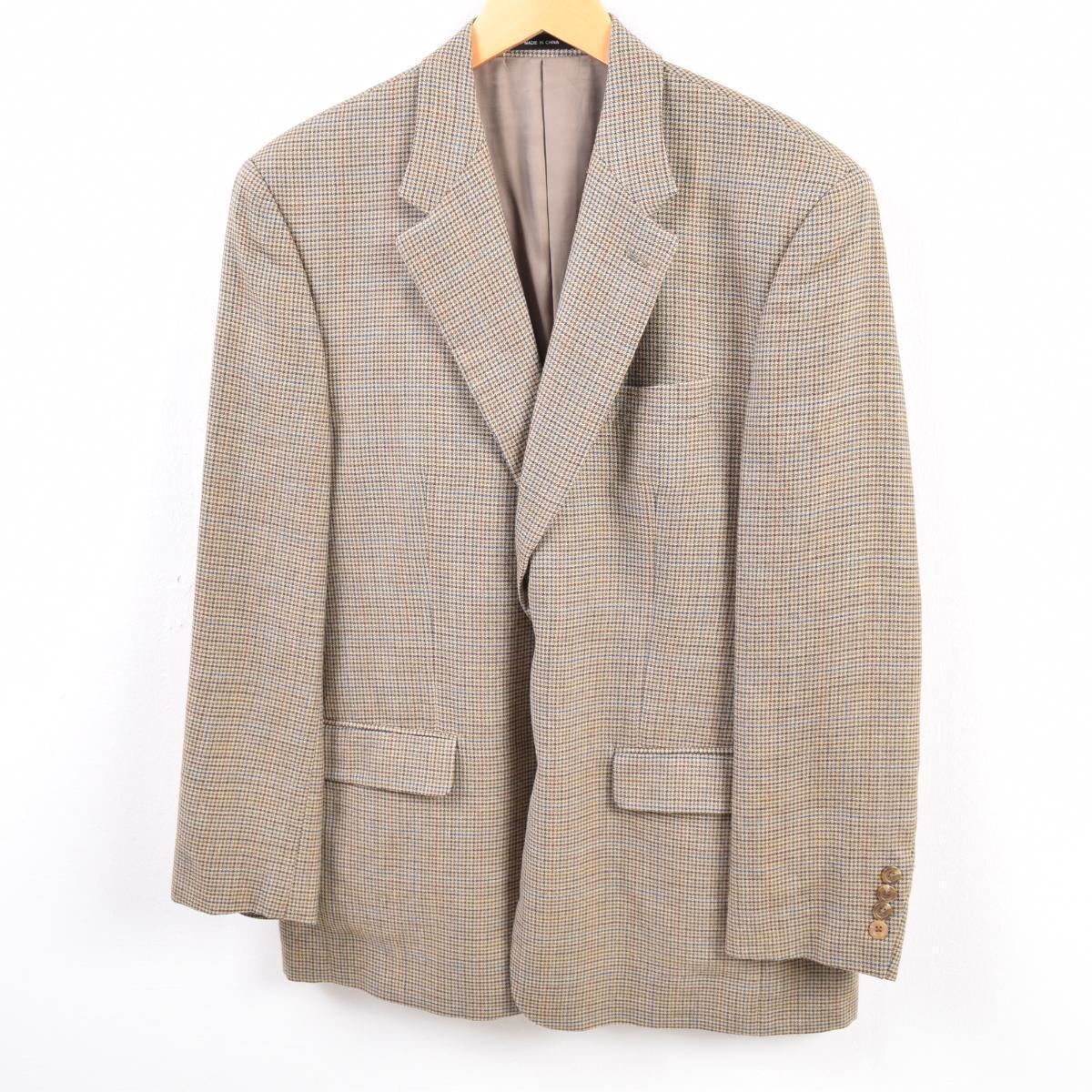 古着屋JAMのチェック柄ジャケット