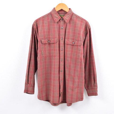ティンバーランド Timberland 長袖 チェックシャツ メンズS /wbi4520 【中古】 【191004】【PD191219】【CS2003】【【SS2003】】