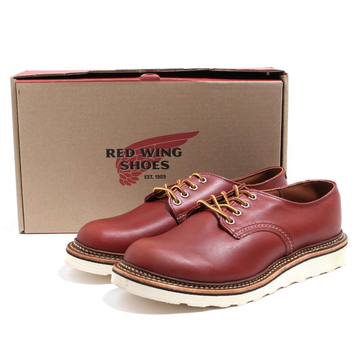 レッドウィング RED WING OXFORD/オックスフォード/ラウンドトゥ ...
