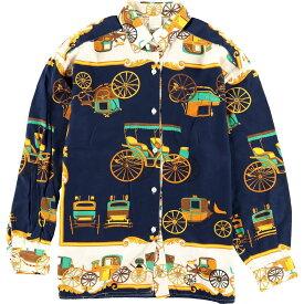 UNITED COLORS OF BENETTONレーヨンシャツ