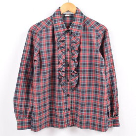 Jois Andersonコットンチェックシャツ