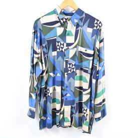 AGGIOレーヨンシャツ