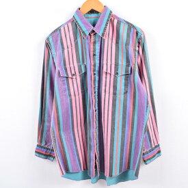 80sWranglerウエスタンシャツ