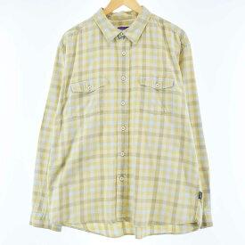 PatagoniaORGANIC COTTONチェックシャツ