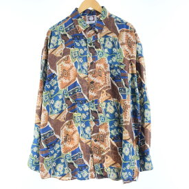 CHIAMAREシルクシャツ