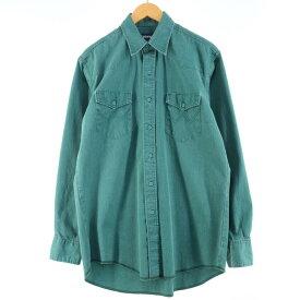 80s Wranglerコットンシャツ