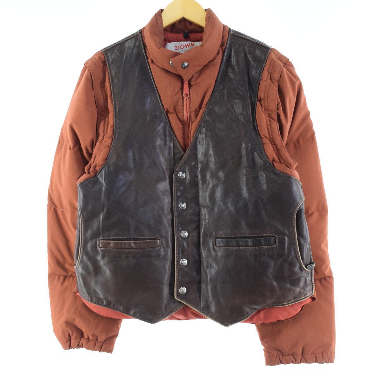 古着屋JAMのショット2WAYダウンジャケット