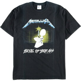 Hanes METALLICA METAL UP YOUR ASS バンドTシャツ