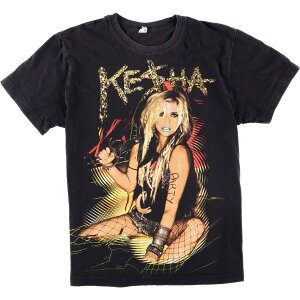 KESHA ケシャ GET SLAZY TOUR バンドTシャツ メンズS /eaa010137 【中古】 【200227】