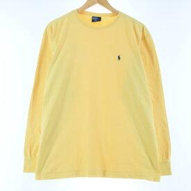 Ralph Lauren POLO by Ralph Lauren ワンポイントロングTシャツ