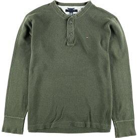 TOMMY HILFIGER サーマルロングTシャツ