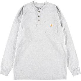 Carhartt ポケットロングTシャツ