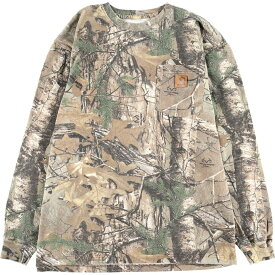 Carhartt ORIGINAL FIT ポケットロングTシャツ