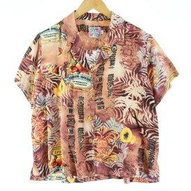 JAMS WORLD ハワイアンアロハシャツ