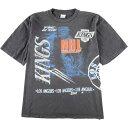 90年代 SALEM SPORTSWEAR NHL LOS ANGELES KINGS ロサンゼルスキングス スポーツプリントTシャツ USA製 メンズXXL ヴィンテージ グラフィックTシャツ /eaa019147 【中古】 【200409】