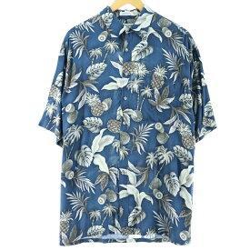 Pierre Cardin ハワイアンアロハシャツ