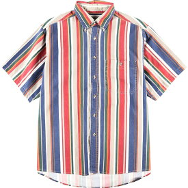 Wrangler WESTERN SHIRTS ストライプボタンダウンシャツ