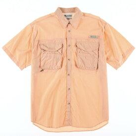 Columbia PFG 半袖フィッシングシャツ
