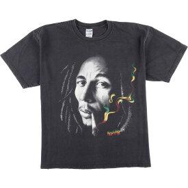 GILDAN BOB MARLEY バンドTシャツ