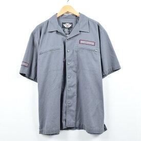 Harley-Davidson 半袖ワークシャツ