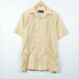 Yugyg.teca メキシカンシャツ キューバシャツ