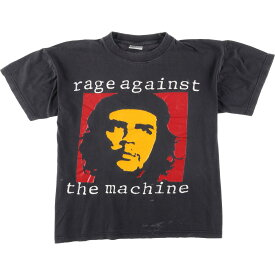 RAGE AGAINST THE MACHINE バンドTシャツ