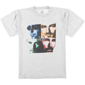 SCREEN STARS by FRUIT OF THE LOOM U2 バンドTシャツ