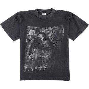 90年代 FIREFOX RICKY MARTIN リッキーマーティン A MEDIO VIVIR バンドTシャツ メンズM ヴィンテージ /eaa028101 【中古】 【200504】
