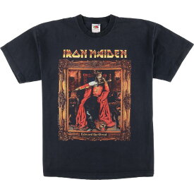 FRUIT OF THE LOOM IRON MAIDEN バンドTシャツ