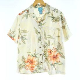 AUGUST SILK ハワイアンアロハシャツ