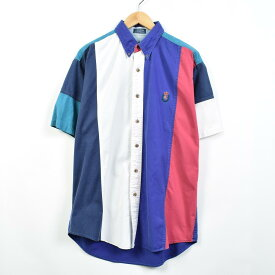 Ralph Lauren CHAPS ストライプボタンダウンシャツ
