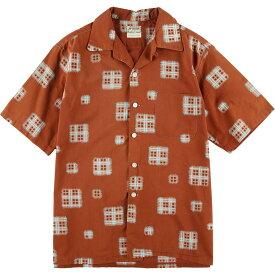 50s McGREGOR 半袖ボックスシャツ