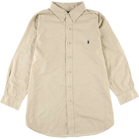 Ralph Lauren 長袖パールボタンシャツ