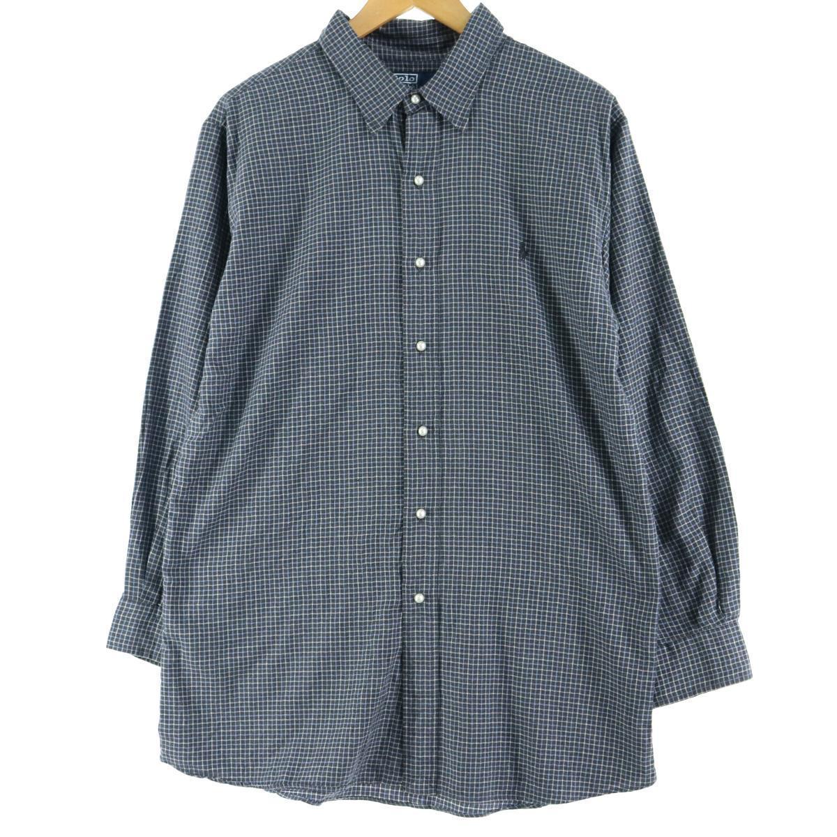 ポロラルフローレンシャツ