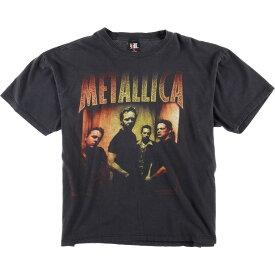 90s giant METALLICA バンドTシャツ