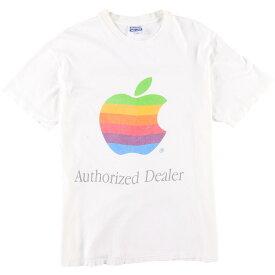 80s Hanes Apple アドバタイジングTシャツ