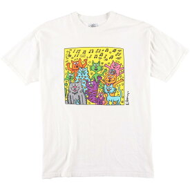 POP SHOP KEITH HARING アートTシャツ