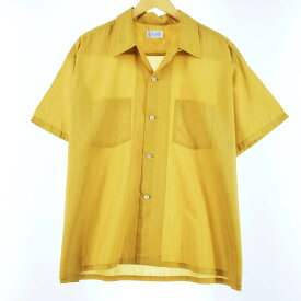 60s Penney's TOWNCRAFT 半袖ボックスシャツ