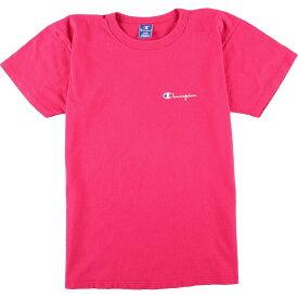 90s Champion ワンポイントロゴTシャツ